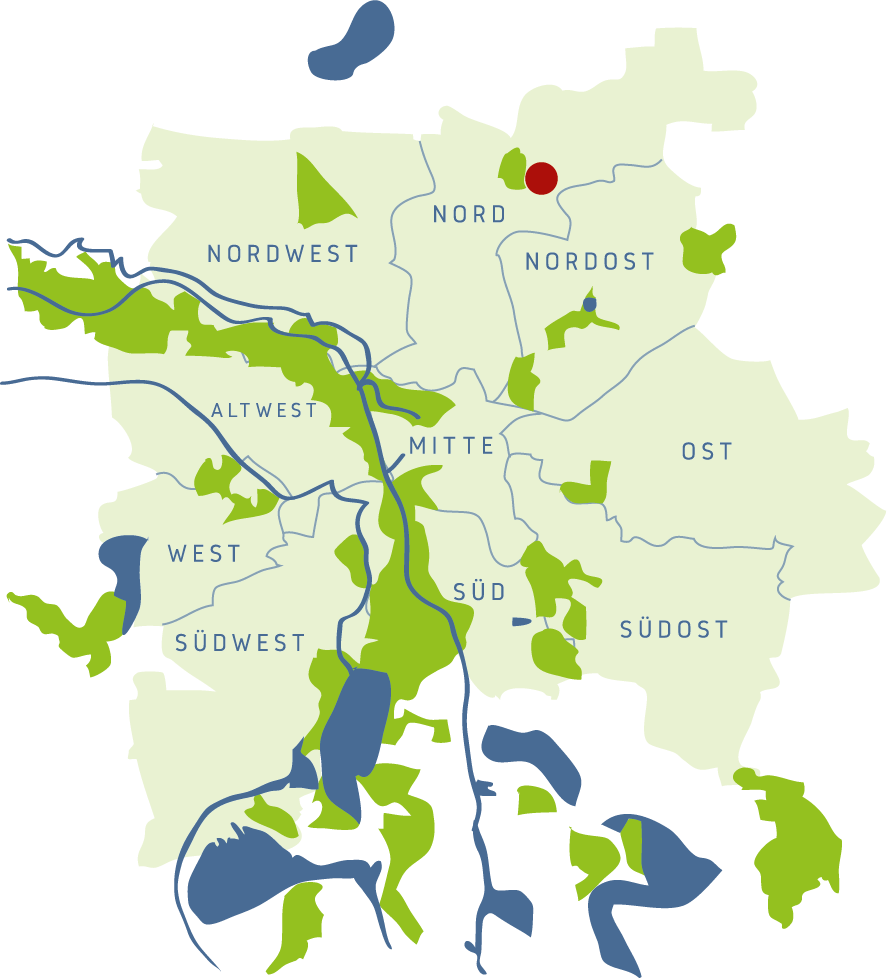 Stadtgut Seehausen Lage - Immobilie Leipzig